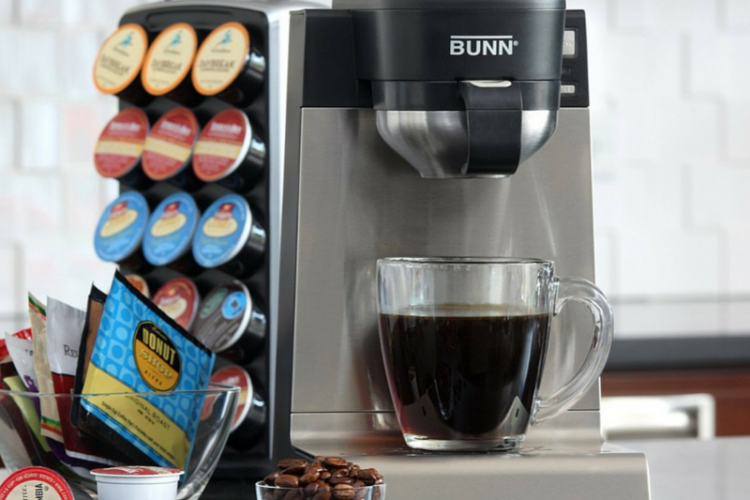 One Cup Coffee Maker Reviews 2015 : BUNN Single Cup Multi-Use Brewer Review - LoveMyCoffeeCup