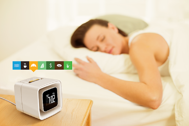 Sensorwake Alarm Clock- Wake Up And Smell The Coffee