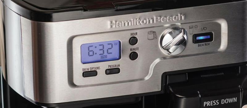 Hamilton Beach Flex Brew Control Panel