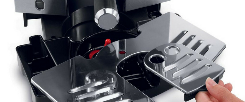 DeLonghi Detachable Drip Tray and Cup Stand