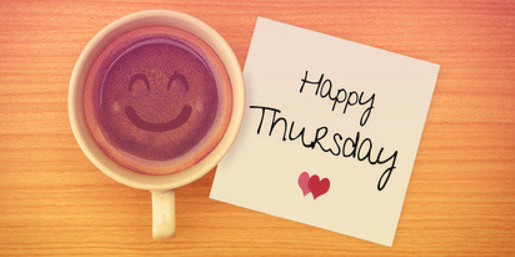 Happy Thursday Coffee Lovers