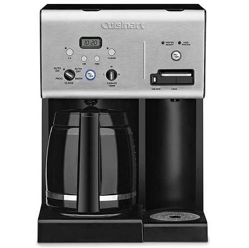 Cuisinart CHW-12 Coffee Plus 12-Cup Programmable Coffeemaker Image