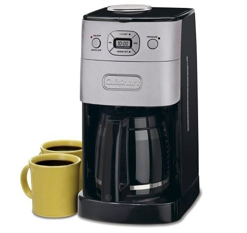 Cuisinart DGB-625BC Grind-and-Brew 12-Cup Automatic Coffeemaker Design