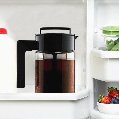 Takeya Cold Brew Iced Coffee Maker in Freezer