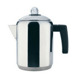 Copco 4- to 8-Cup Polished Stainless Steel Stovetop Percolator Image