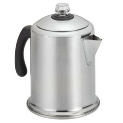 Farberware Classic Stainless Steel Yosemite 8-Cup Coffee Percolator Image