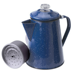 Gsi Outdoors 15155 Blue 12 Cup Stovetop Percolator