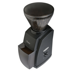 Baratza Encore Conical Burr Coffee Grinder On White Background