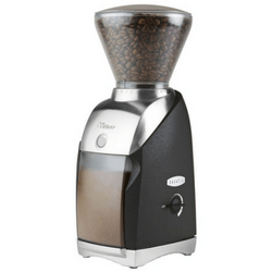 Baratza Virtuoso - Conical Burr Coffee Grinder On White Background
