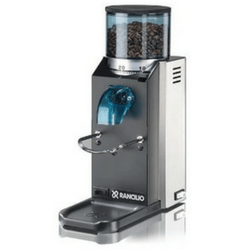 Rancilio HSD-ROC-SD Rocky Espresso Coffee Grinder On White Background