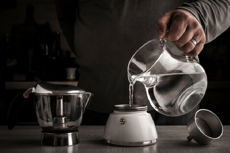 Making Coffee With Alkaline Water Image