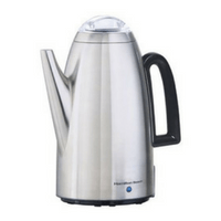Stainless Steel Hamilton Beach Twist List Percolator Image