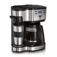 Hamilton Beach Single Serve Full Pot Coffeemaker Image
