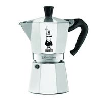 The Original Bialetti Moka Express - 6 Cup Stovetop Coffee Maker Image