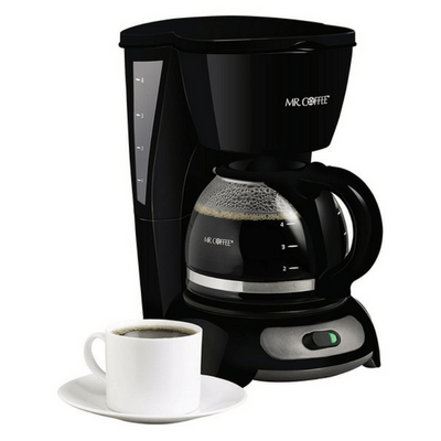 Mr Coffee 4-Cup Switch Coffee Maker