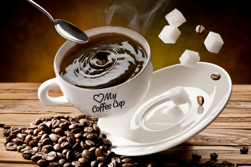 White Coffee Cup With Best Low Acid Coffee Brands