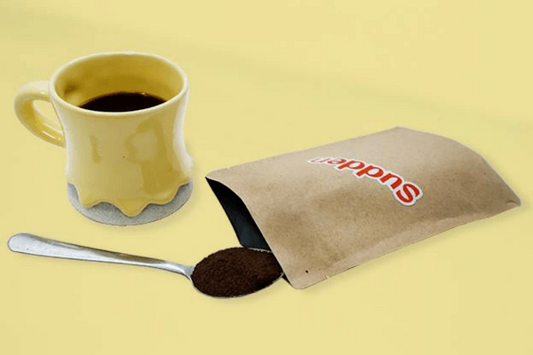 Sudden Coffee Pack And Cup