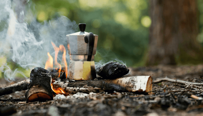 How to Make Coffee While Camping With Traditional Method