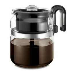 Glass Medelco Stovetop Coffee Percolator