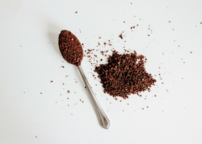 Instant Coffee With Spoon