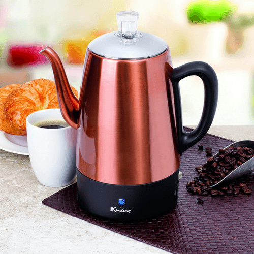 8 Cup Euro Electric Percolator