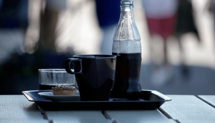 Cafe de Olla, Coke And Pastry