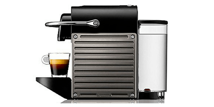 Side View Of The Pixie Espresso Maker