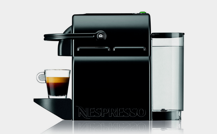 The Original Nespresso Inissia Espresso Machine Side View