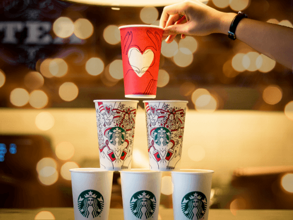 Iconic Starbucks Cups