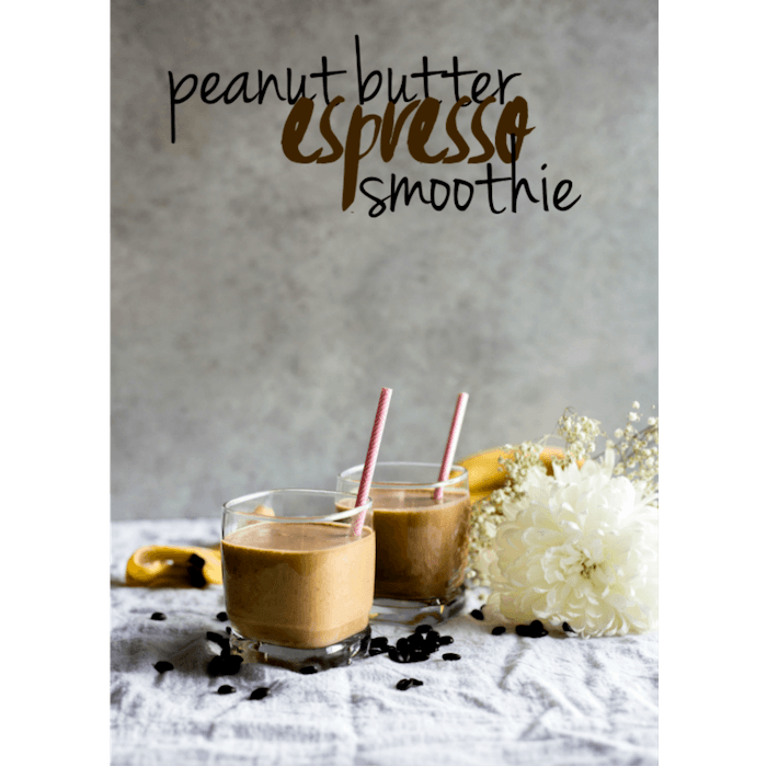 Peanut-butter Espresso Smoothie