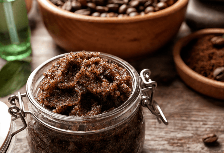 Homemade face and body all natural exfoliating scrub