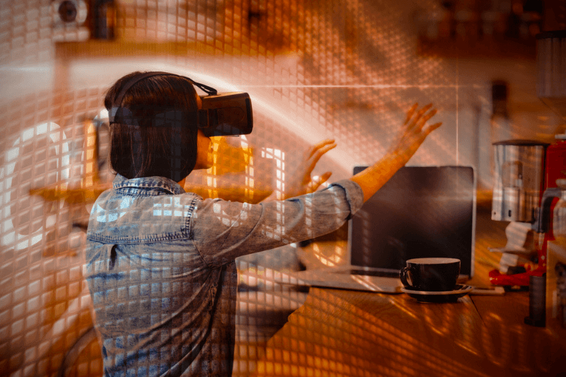 The future of virtual reality coffee shops