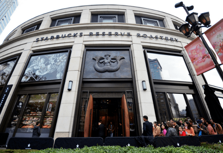 The new Starbucks Reserve Roastery in Shanghai