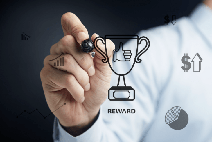 Reward program concept that help sales