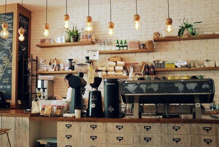 Coffee shop with a great vibe