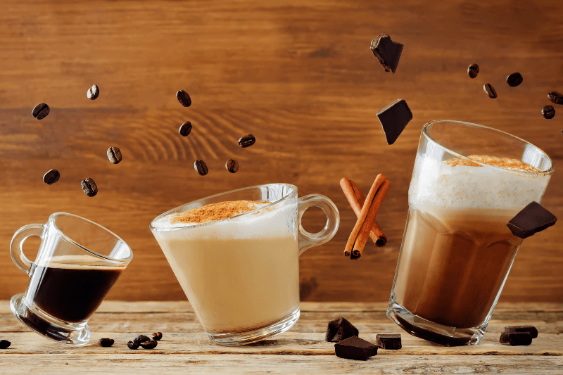 Five most popular types of coffee
