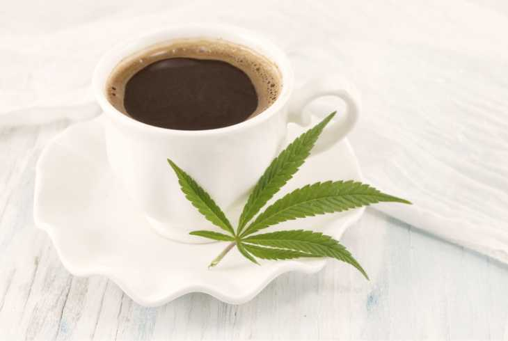 A combo of coffee and marijuana for pain management
