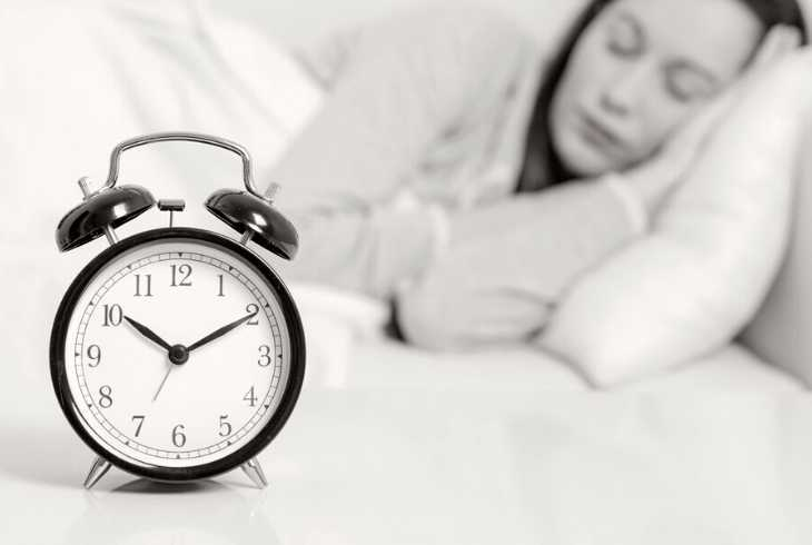 Woman sleeping who avoided caffeine before bed